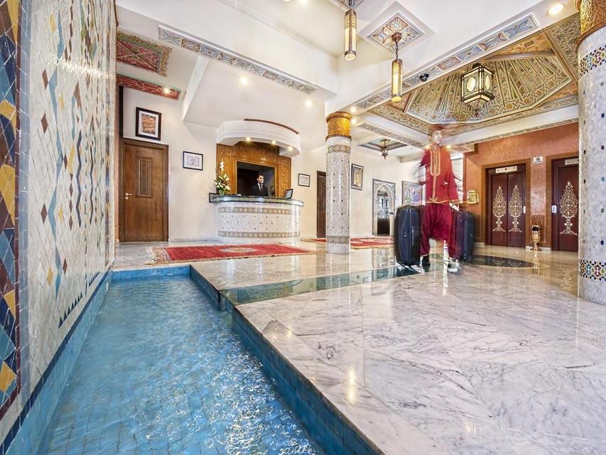 Casablanca hotel Club Val d'Anfa lobby