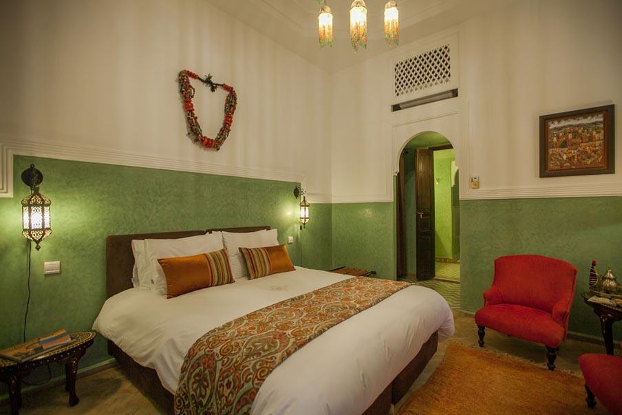 Marrakech Riad le Close des Arts bedroom